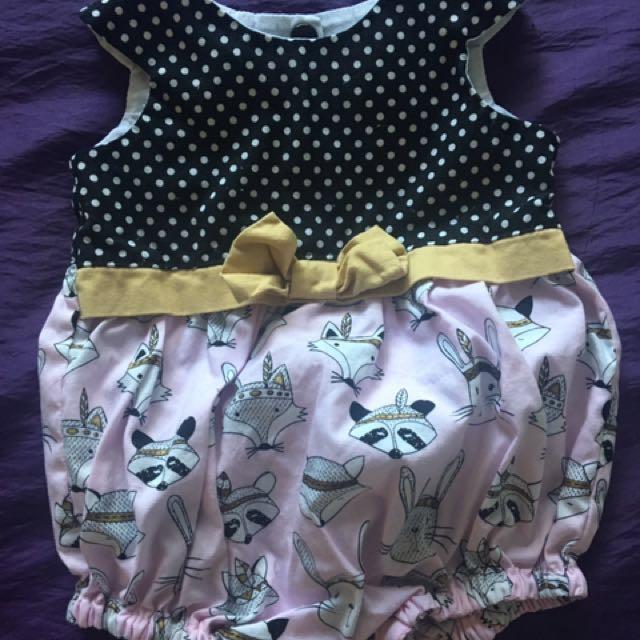 Size 0000 Baby Girl Romper