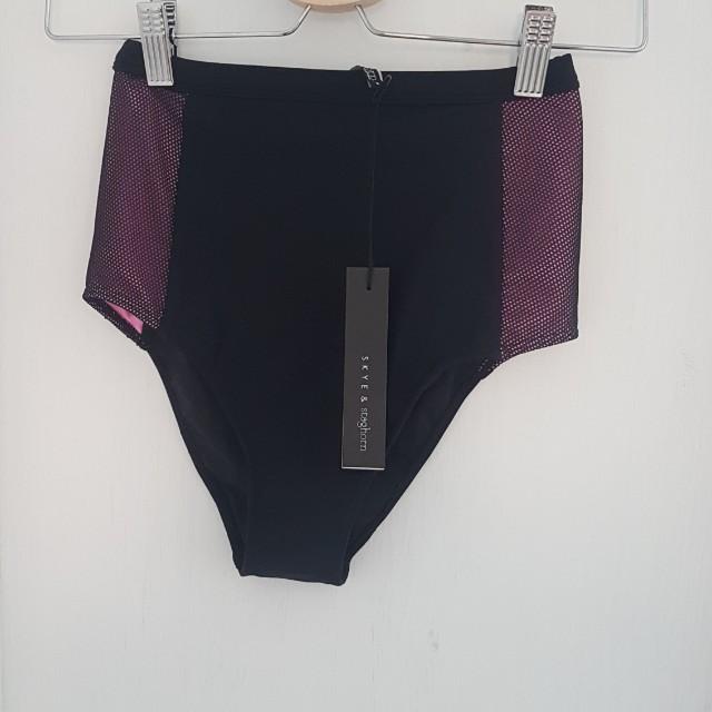 Skye and Staghorn Benson high waist bikini bottoms BNWT