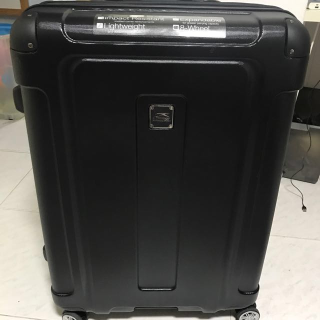 b0469a841a Slazenger black 30 inch luggage, Luxury, Bags & Wallets on Carousell