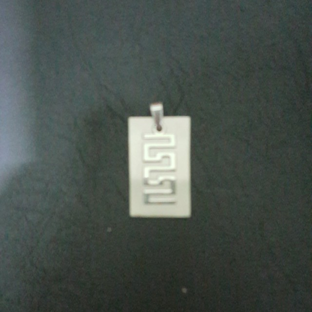 Stainless stain pendant