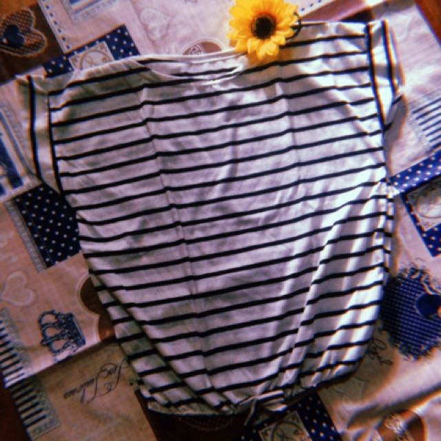 stripes croptop🌷