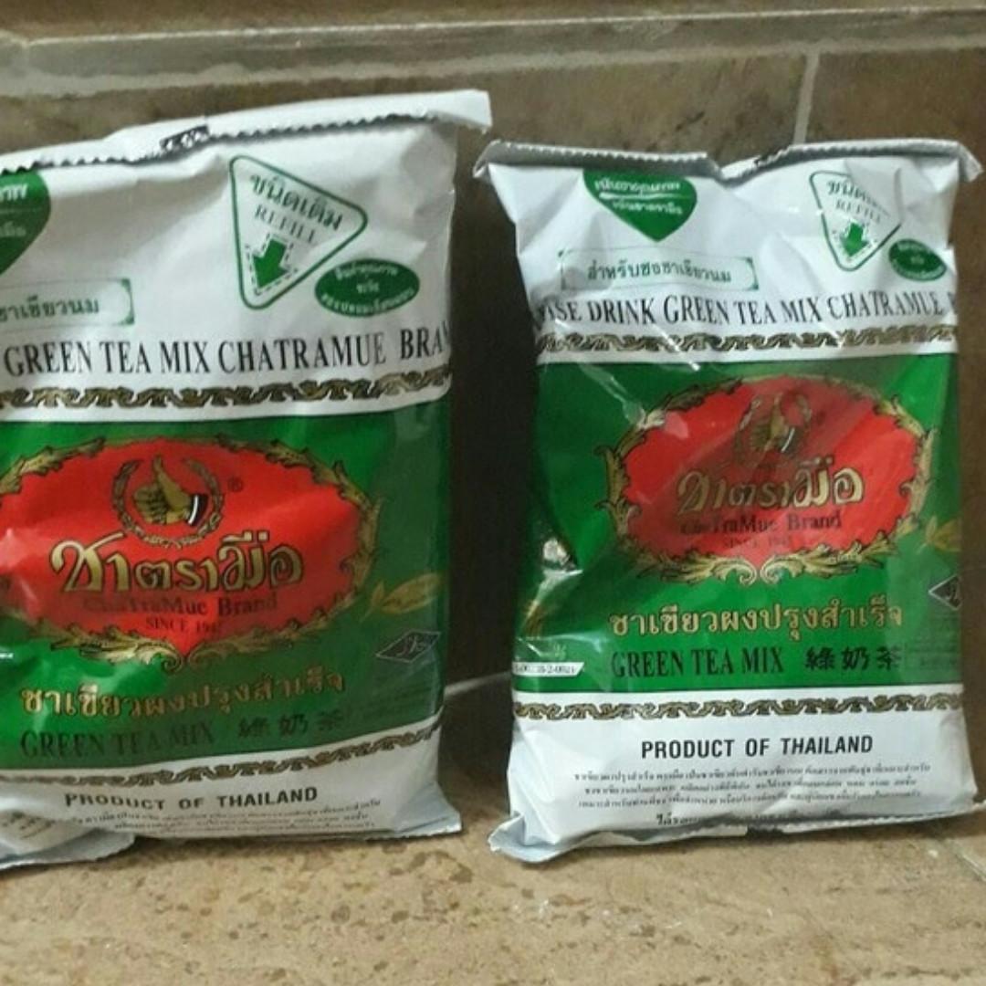 Thai Tea Merk Number One /Chatramue Green Tea