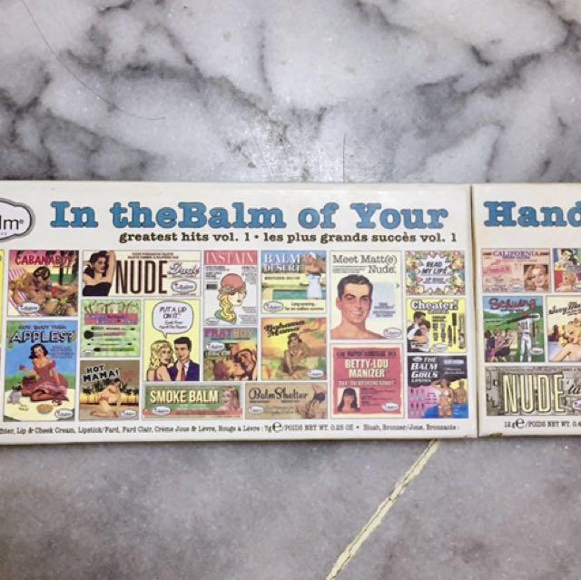 the balm 眼影盤