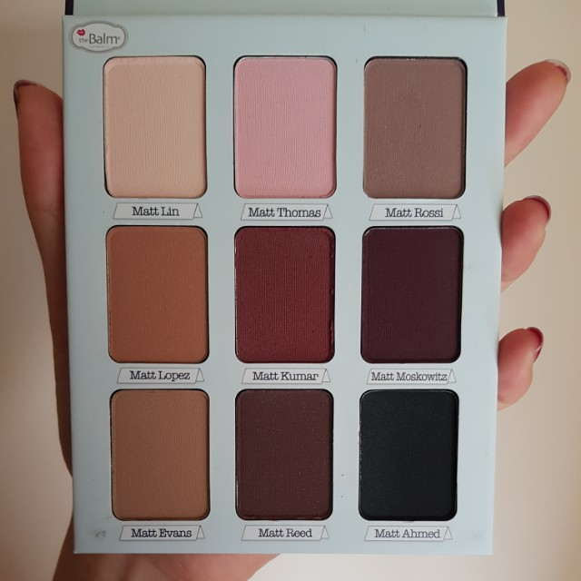 The Balm Meet Matte Trimony eyeshadow palette