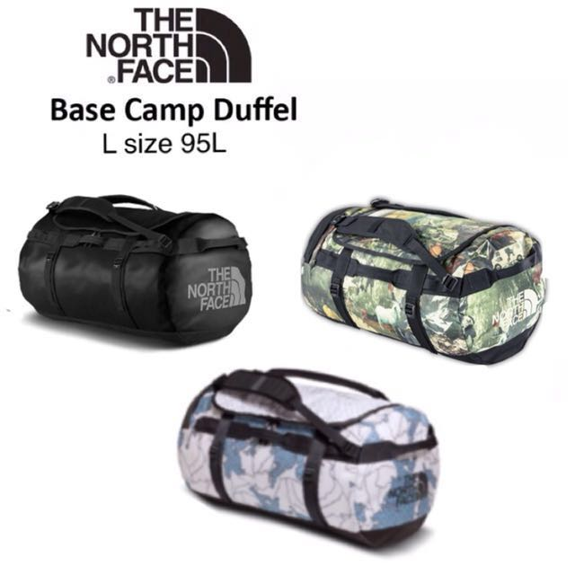 THE NORTH FACE DUFFLE BAG | BACKPACK | LATEST PRINT