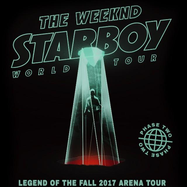 4x The Weekend Starboy Tickets