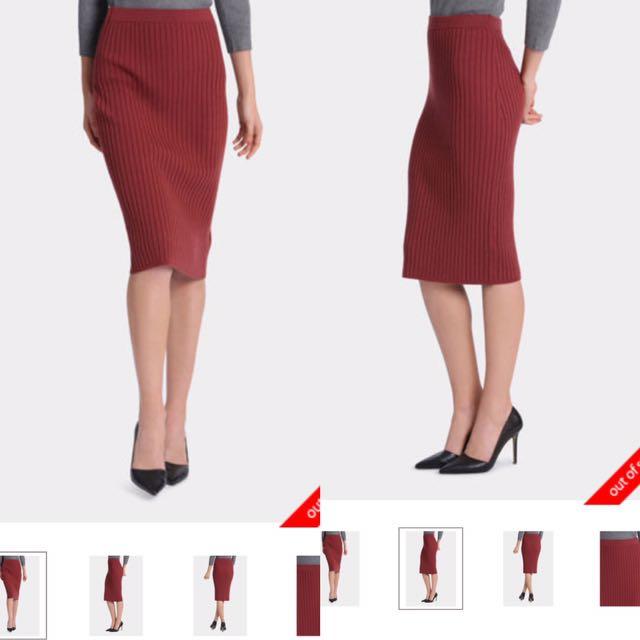 Tokito ribbed Skirt