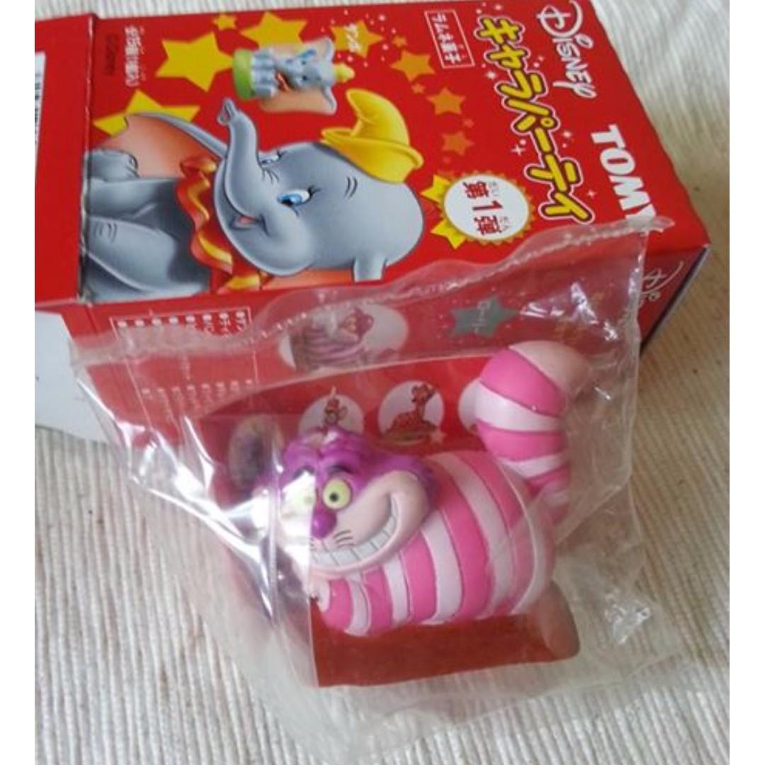 【絕版】TOMY軟膠盒裝公仔 - 妙貓