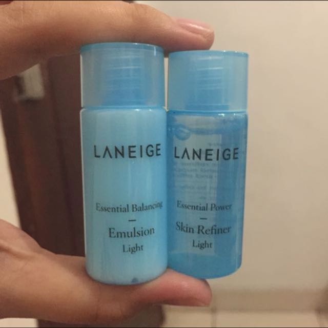Trial kit merk laneige