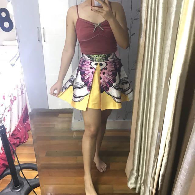 Tulisa set (Top+skirt)