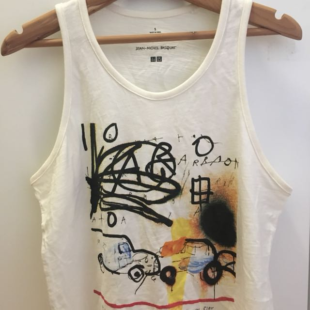 Uniqlo SPRZ NY Tank Top (Jean-Michel Basquiat)