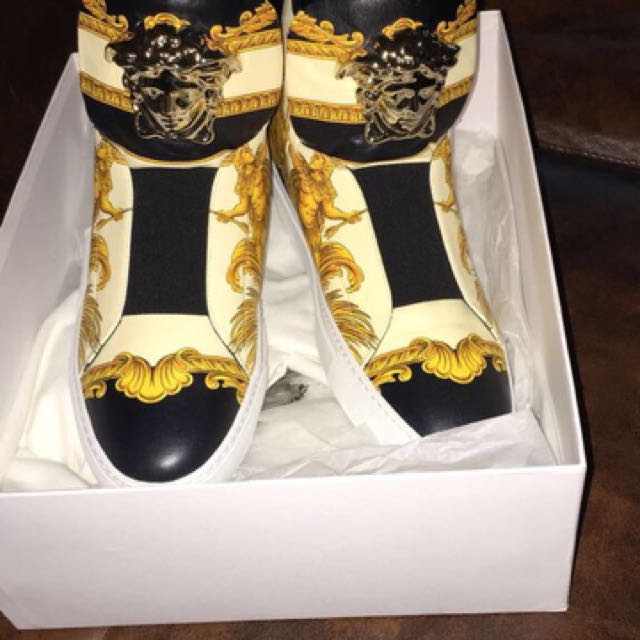 Versace high tops