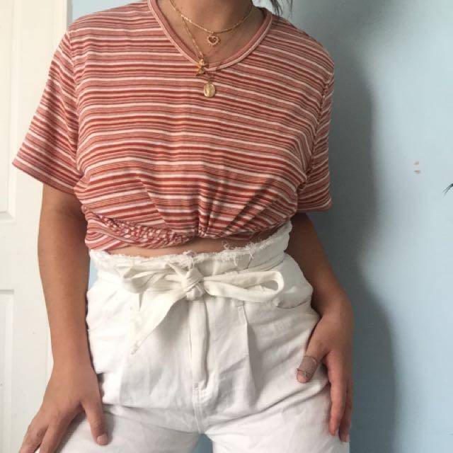 vintage stripe tshirt