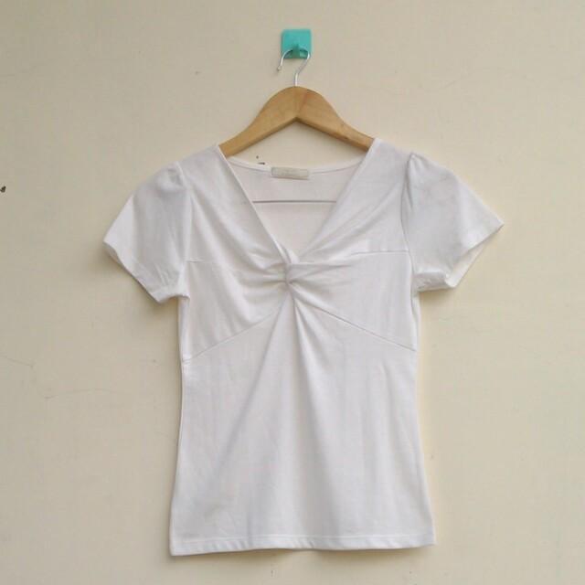 White Blouse/White Tshirt
