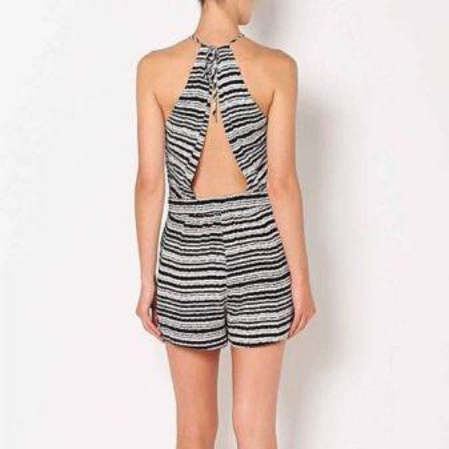 Witchery Linear Print Playsuit
