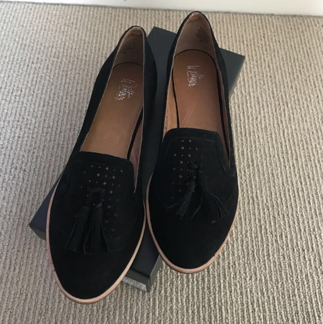 Wittner Suede Loafers - Brand New