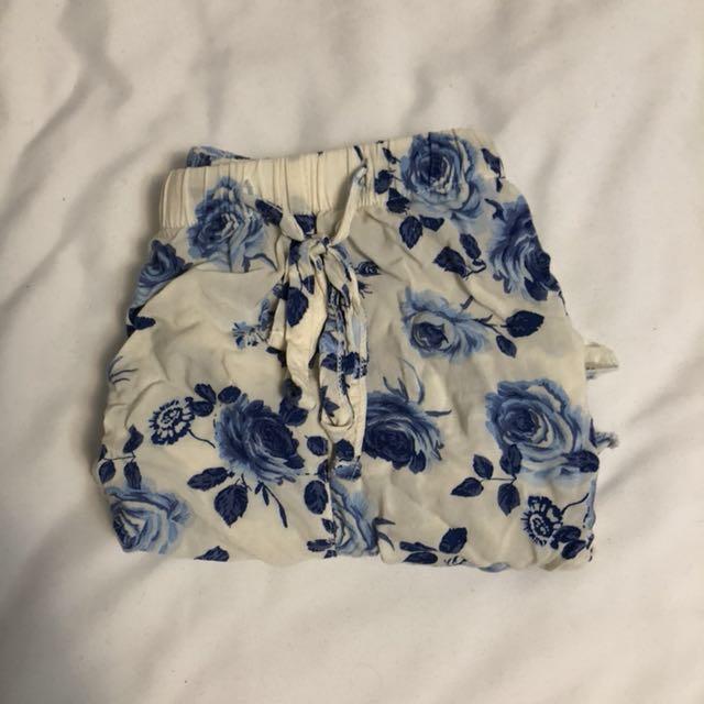 XXVI Blue Rose Shorts