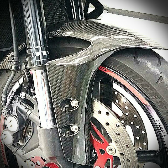 Yamaha Mt 10 Mt10 R1 R6 Carbon Fibre Front Fender Motorbikes Motorbike Accessories On Carousell