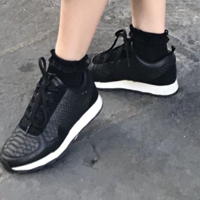 Zara black sneakers