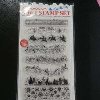 Xmas stamp set