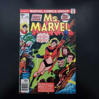 Ms. Marvel (vol.1, Jan 1977) #1....