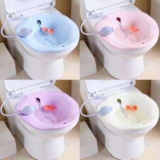 新貨到啦!坐月浴盆 痔患坐浴盆 配噴射管