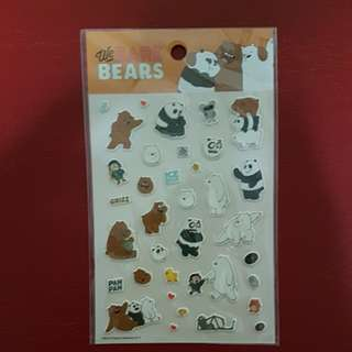 We bare bears stickerrrrs