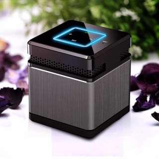 Stylish Cubic Metal Garine Max Mini Bluetooth Speaker
