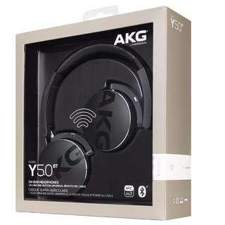 [INSTOCK] AKG Y50BT Wireless Bluetooth Headphones