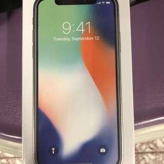 IPhone X 256g 黑色