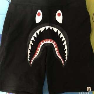 Black BAPE sweatshorts size M