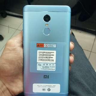 Xiaomi Note 4X 4/64Gb Blue Kredit Mudah