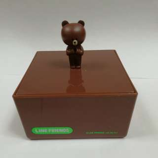 Line (brown) 盒仔