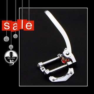* Sale * Guitar Bigsby Vibrato Kit Bridge in Chrome * Brand New * Limited Stock *