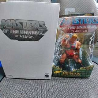 MASTERS OF THE UNIVERSE CLASSICS : HEMAN (not Marvel Legends, DC, Heman)