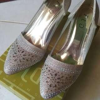 Sepatu Pesta Bling Bling