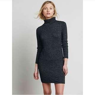 H&M turtle neck dress