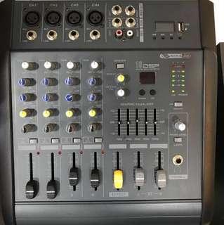 Professional karaoke mixer