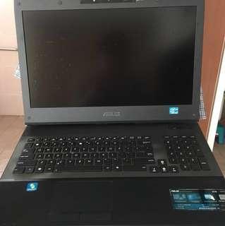 ASUS Pro Gaming Laptop G74 S series i7