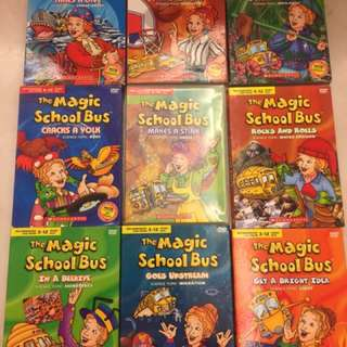 Magic School Bus DVDs (9 Dvd)