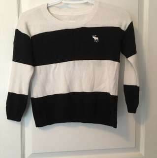 A&F cropped sweater