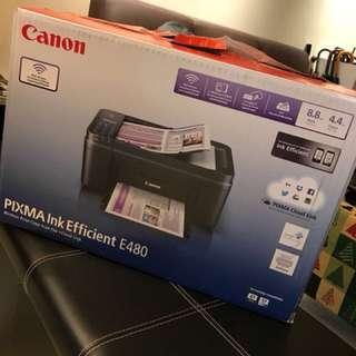 Canon printer PIXMA E480