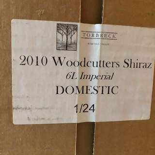 2010 Woodcutters Shiraz 6L 紅酒 Imperial