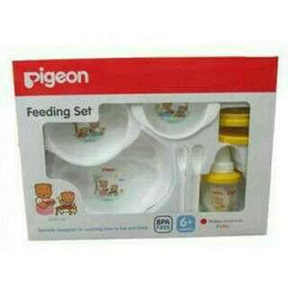 Perlengkapan makan baby Pigeon