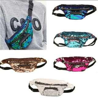 Mermaid belt/sling bag