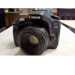 Canon EOS 80D Body Only (Price Reduced)