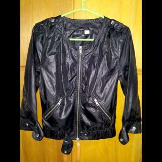 H&M Hanging Faux leather Jacket