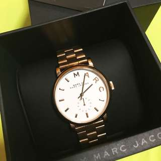 🏅MARC BY MARC JACOBS 玫瑰金手錶