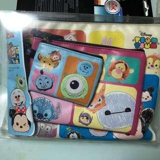 Disney Tsum Tsum Pouch Set