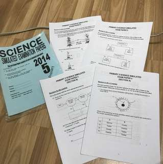 Science simulated exam papers